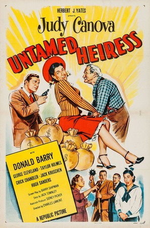 Untamed Heiress - Movie Poster (thumbnail)