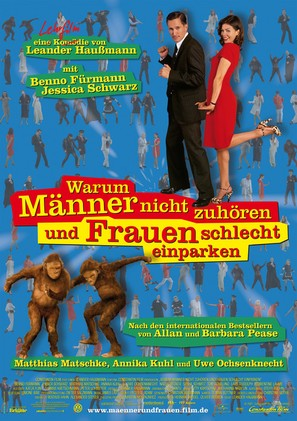 Warum Männer nicht zuhören und Frauen schlecht einparken können - German Movie Poster (thumbnail)
