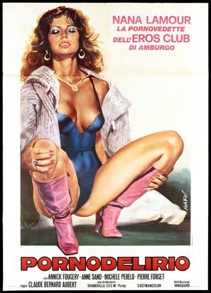 Les grandes jouisseuses - Italian Movie Poster (thumbnail)