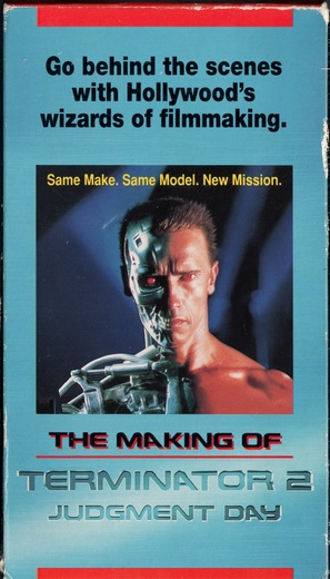 The Making of 'Terminator 2: Judgment Day' - VHS movie cover (thumbnail)