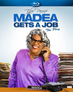 Tyler Perry's Madea Gets a Job - Blu-Ray cover (thumbnail)