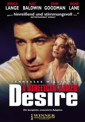 A Streetcar Named Desire - German DVD movie cover (thumbnail)