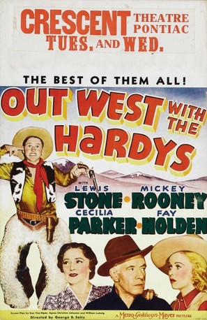 Out West with the Hardys - Movie Poster (thumbnail)