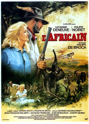 L'Africain - French Movie Poster (thumbnail)