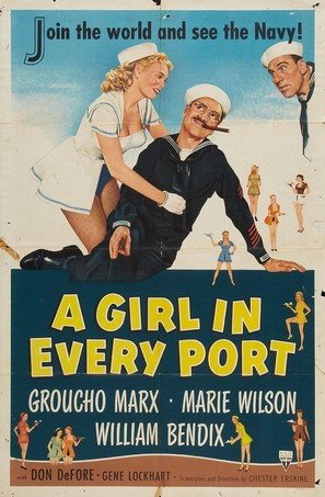 A Girl in Every Port - Movie Poster (thumbnail)