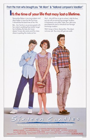 Sixteen Candles - Movie Poster (thumbnail)