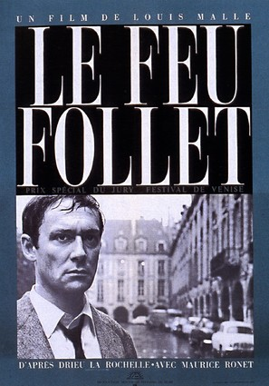 Le feu follet - French Movie Poster (thumbnail)