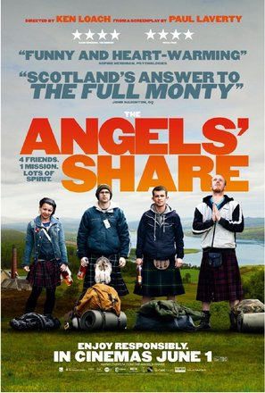 The Angels' Share - British Movie Poster (thumbnail)