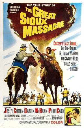 The Great Sioux Massacre - Movie Poster (thumbnail)