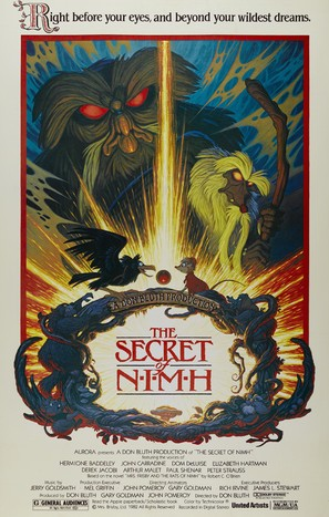 The Secret of NIMH - Movie Poster (thumbnail)