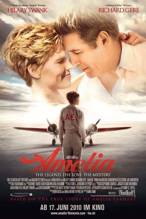 Amelia - Swiss Movie Poster (thumbnail)