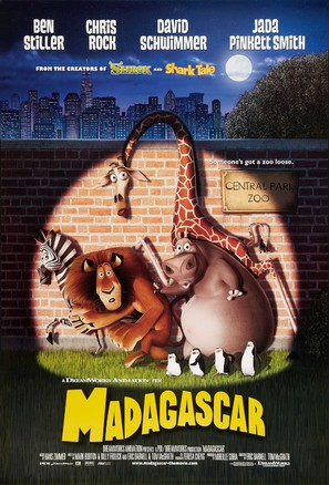 Madagascar - Movie Poster (thumbnail)