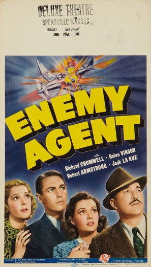 Enemy Agent - Movie Poster (thumbnail)