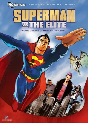 Superman vs. The Elite - Movie Poster (thumbnail)