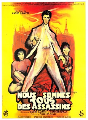 Nous sommes tous des assassins - French Movie Poster (thumbnail)