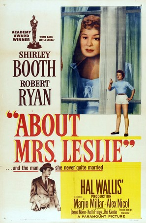 About Mrs. Leslie - Movie Poster (thumbnail)