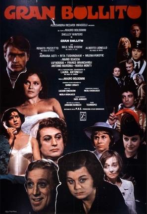 Gran bollito - Italian Movie Poster (thumbnail)
