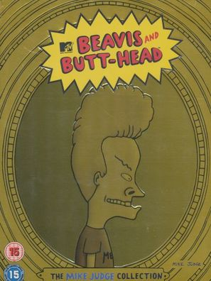 """Beavis and Butt-Head"" - British Movie Cover (thumbnail)"