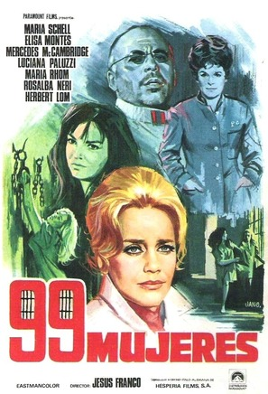 99 mujeres - Spanish Movie Poster (thumbnail)