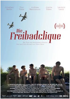 Die Freibadclique - German Movie Poster (thumbnail)