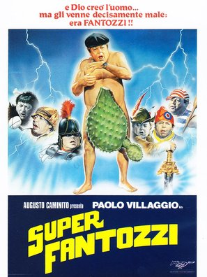 Superfantozzi - Italian Movie Cover (thumbnail)