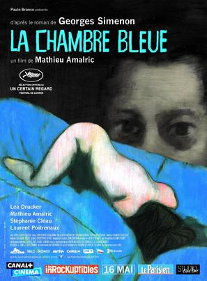 La chambre bleue - French Movie Poster (thumbnail)