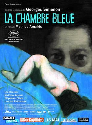 La chambre bleue - French Movie Poster (thumbnail)