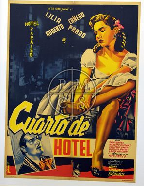 Cuarto de hotel - Mexican Movie Poster (thumbnail)