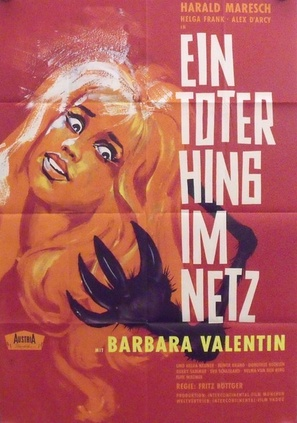 Ein Toter hing im Netz - German Movie Poster (thumbnail)