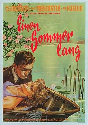 Sommarlek - German Movie Poster (thumbnail)