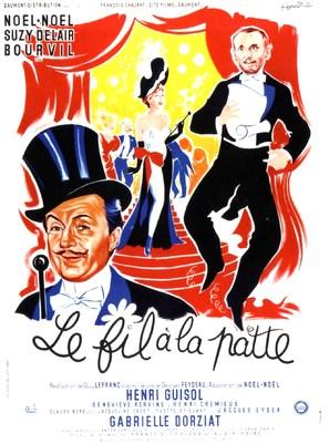 Le fil à la patte - French Movie Poster (thumbnail)