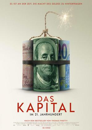 Capital in the Twenty-First Century - German Movie Poster (thumbnail)