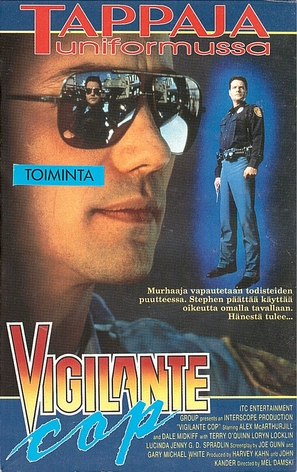 Shoot First: A Cop's Vengeance - Finnish Movie Cover (thumbnail)