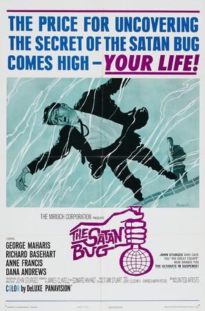 The Satan Bug - Theatrical movie poster (thumbnail)