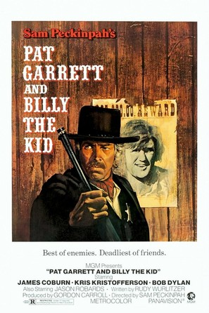 Pat Garrett & Billy the Kid - Movie Poster (thumbnail)