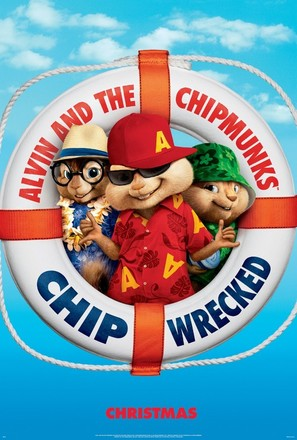 Alvin and the Chipmunks: Chipwrecked - Movie Poster (thumbnail)
