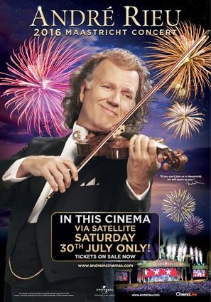 André Rieu's 2016 Maastricht Concert - Australian Movie Poster (thumbnail)