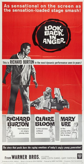 Look Back in Anger - Movie Poster (thumbnail)