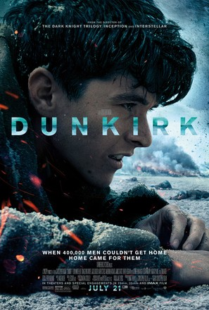 Dunkirk - Theatrical movie poster (thumbnail)