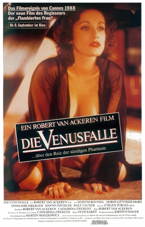 Venusfalle, Die - German Movie Poster (thumbnail)