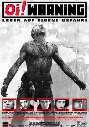 Oi! Warning - German Movie Poster (thumbnail)