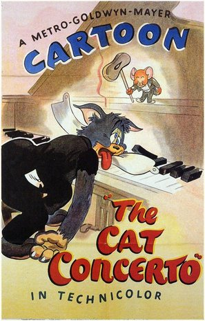 The Cat Concerto - Movie Poster (thumbnail)