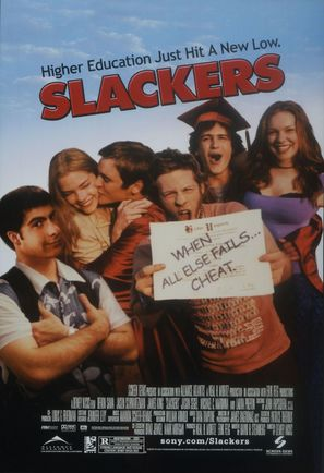 Slackers - Movie Poster (thumbnail)