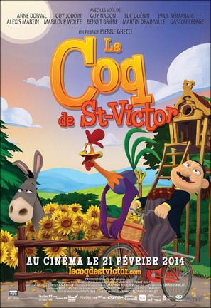 Le Coq de St-Victor - Canadian Movie Poster (thumbnail)