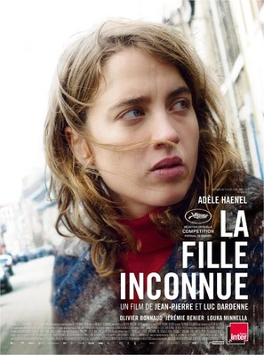 La fille inconnue - French Movie Poster (thumbnail)