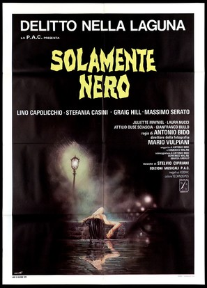 Solamente nero - Italian Movie Poster (thumbnail)