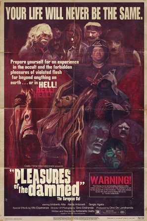 Pleasures of the Damned - Movie Poster (thumbnail)