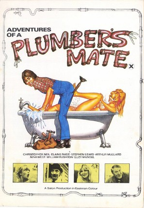 Adventures of a Plumber's Mate - British Movie Poster (thumbnail)