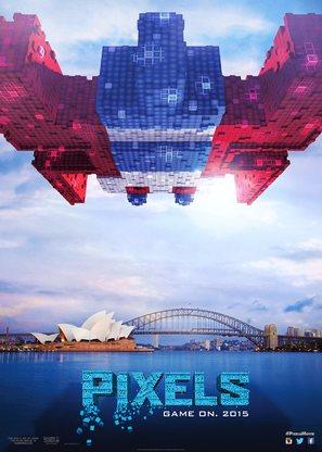 Pixels - Movie Poster (thumbnail)