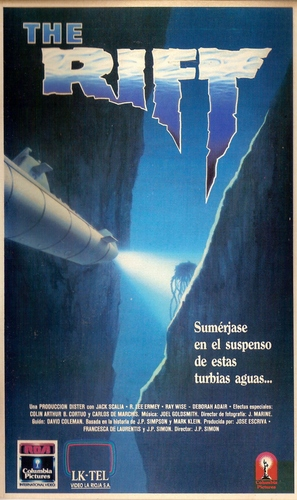 The Rift - Argentinian VHS cover (thumbnail)